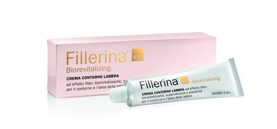 FILLERINA BIOREVITALIZING CREMA CONTORNO LABBRA - Grado 4-Bio