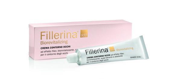 FILLERINA BIOREVITALIZING - CREMA CONTORNO OCCHI Grado 3-Bio