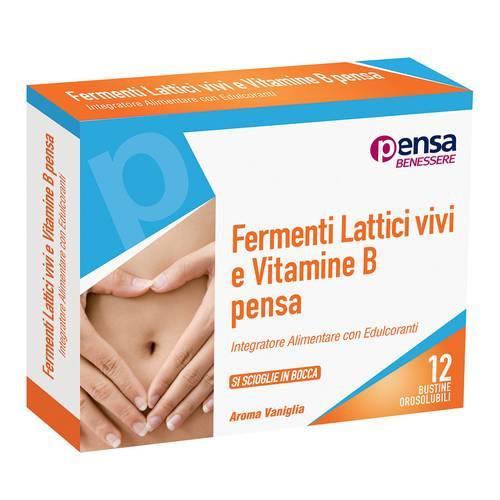 PENSA Fermenti Lattici vivi e Vitamine B - INTEGRATORE