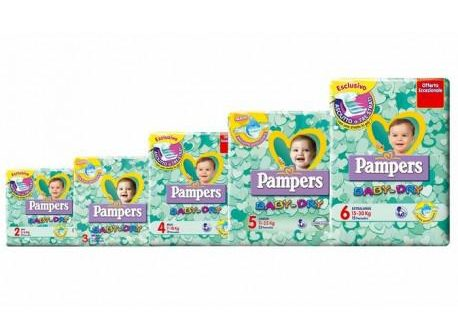 PAMPERS BD DWCT NO FLAH JUNIOR17