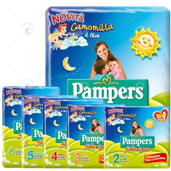 PAMPERS SOLE E LUNA - PANNOLINI