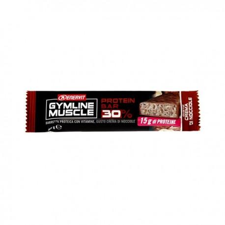 Enervit Gymline Muscle Protein Bar 30% - Crema Di Nocciole Barretta 48g