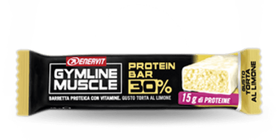 Enervit Gymline Barretta Limone 30% Barrette Proteiche 48gr