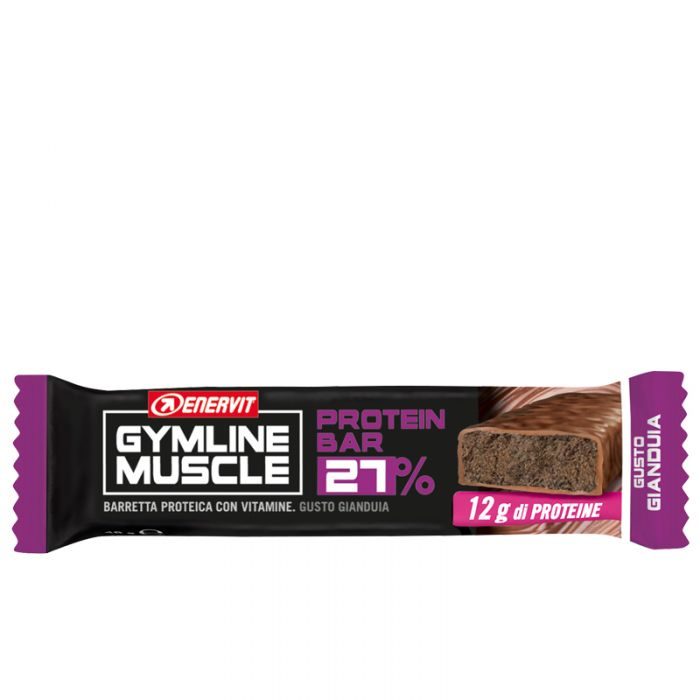 Enervit Gymline Barretta Gianduia 27%  Barrette Proteiche 48gr