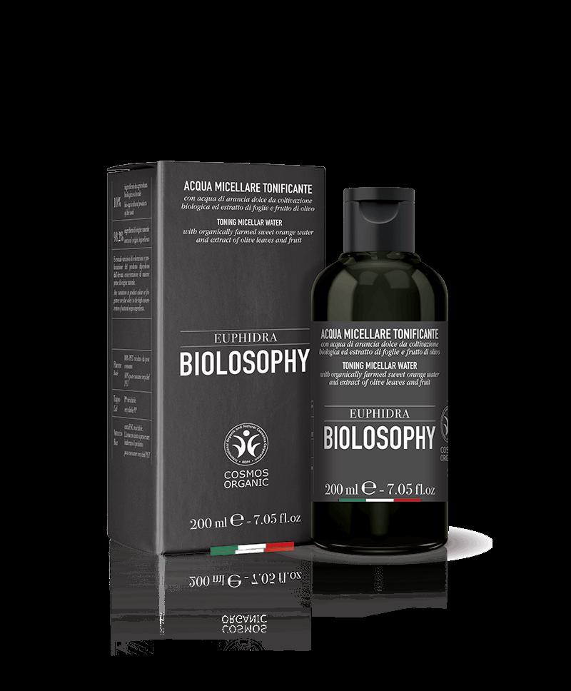EUPHIDRA BIOLOSOPHY - ACQUA MICELLARE TONIFICANTE