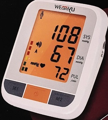 WeCareYu Cardio Talk Misuratore di Pressione Parlante