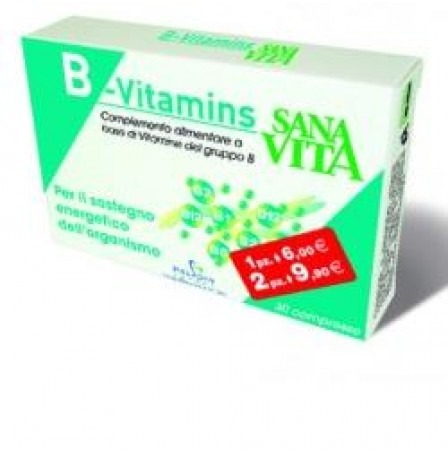 SANAVITA B-VITAMIS 30 CPR