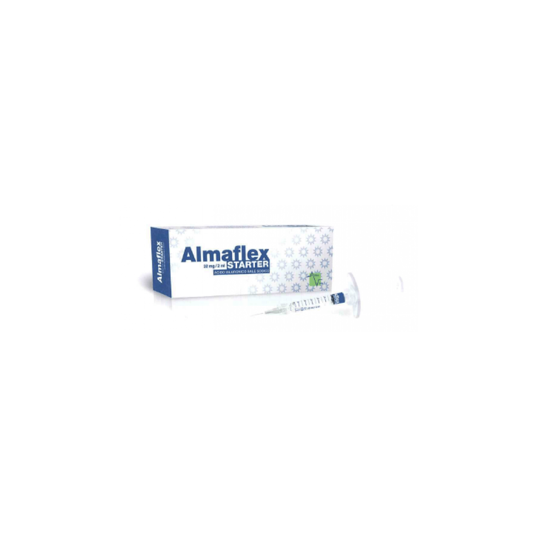ALMAFLEX STARTER SIRINGA INTRA-ARTICOLARE ACIDO IALURONICO SALE SODICO 32 MG 2 ML