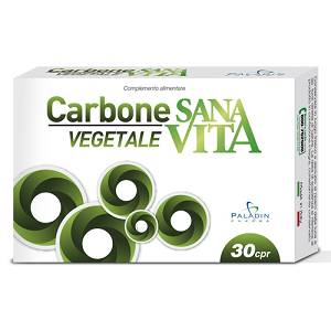 SANAVITA CARBONE VEGETALE 30CPR