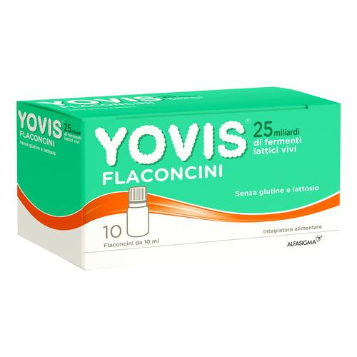 YOVIS FLACONCINI 10 flaconcini 25 miliardi