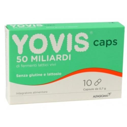 YOVIS CAPS 10 CPS - REGOLARITA