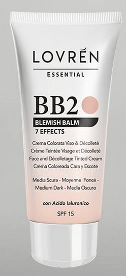 LOVREN ESSENTIAL BB CREAM BB2 M S