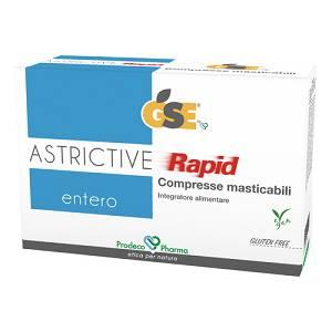 GSE ENTERO ASTRICTIVE RAPID 24 CPR MASTICABILI