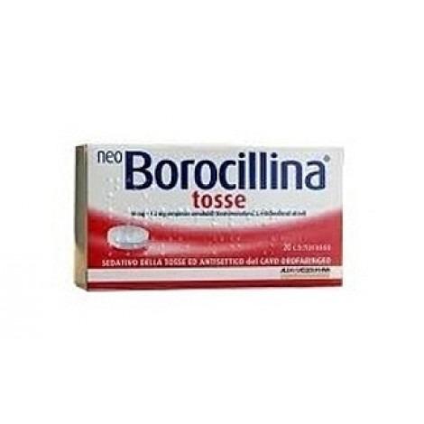 NEOBOROCILLINA TOSSE* 20PASTIGLIE
