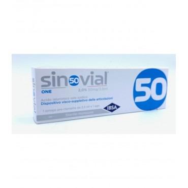 SINOVIAL ONE 50 - SIR 2% 2,5ML 1PEZZO 1 siringa