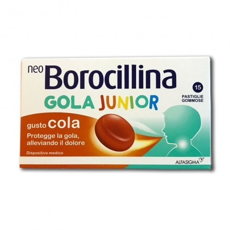 NEOBOROCILLINA GOLA JUNIOR 15PAST