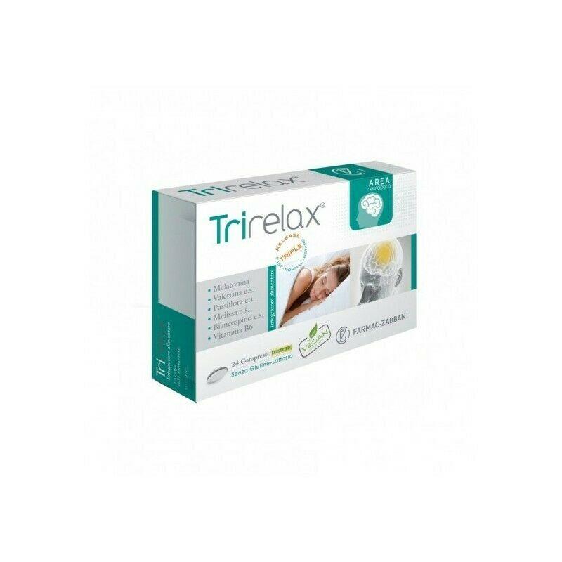 TRIRELAX CF 24 CPR - Integratore per favorire il sonno