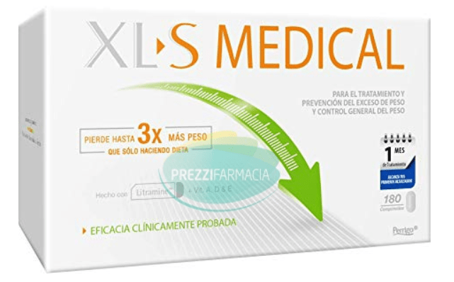 XL-S MEDICAL LIPOSINOL 60 CPS
