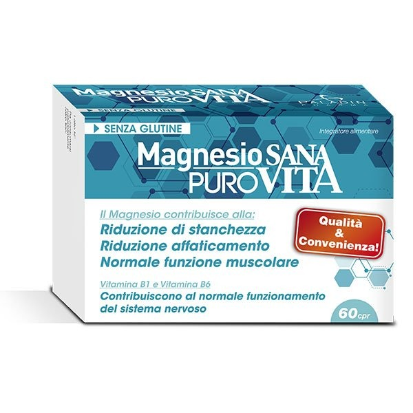 SANAVITA MAGNESIO PURO 60CPR