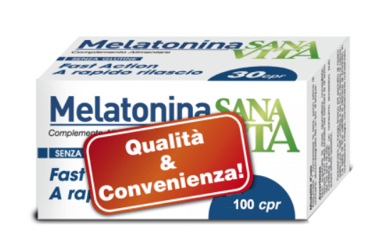 SANAVITA MELATONINA 100 compresse