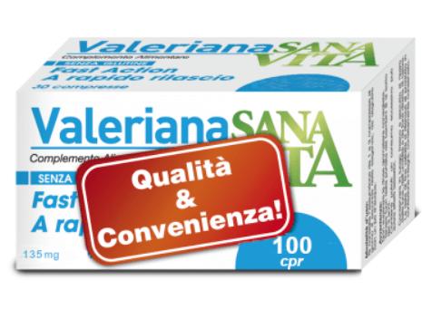 SANAVITA VALERIANA 100CPR