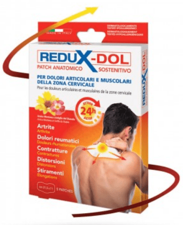 REDUX-DOL PATCH DOLORI CERVICALI 5 PATCHES