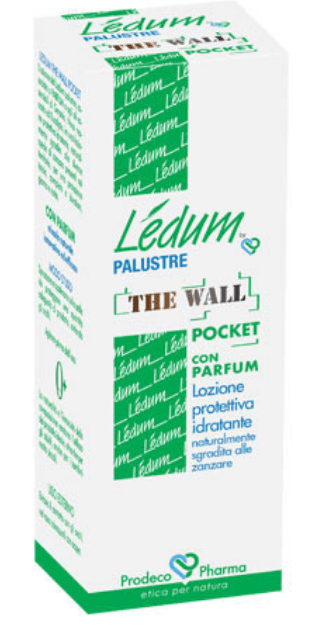 LEDUM THE WALL POCKET 50 ML - LOZIONE SGRADITA ALLE ZANZARE