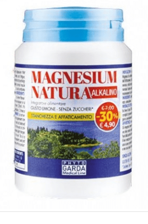 MAGNESIUM NATURA ALKALINO 50 GR