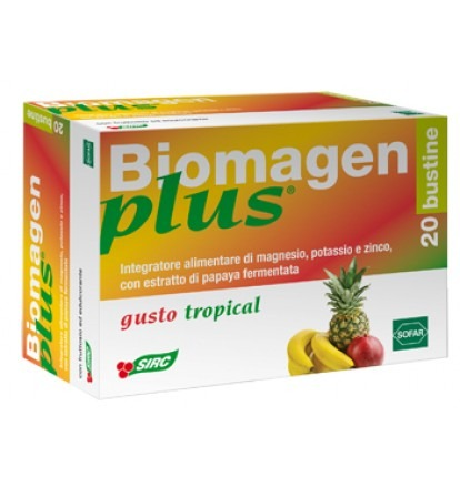 BIOMAGEN PLUS TROPICAL 20 BUSTINE