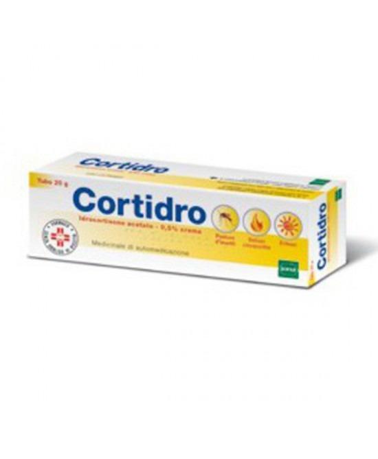 CORTIDRO CREMA 20 GR 0,5%