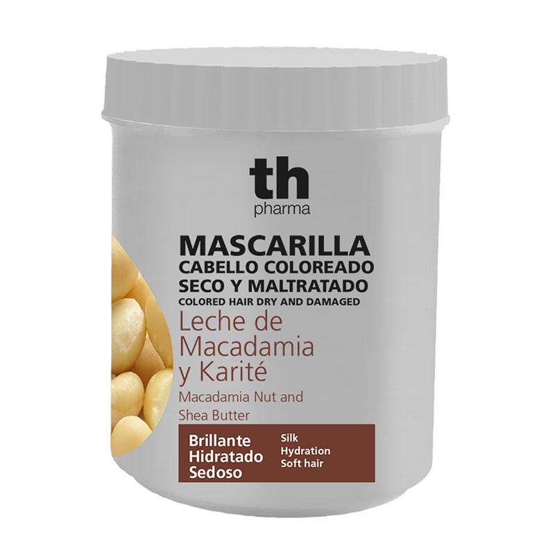 Maschera con estratto di Macadamia e Karité. 700 ml.