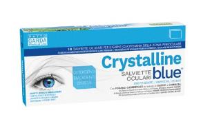 CRYSTALLINE BLUE 18 SALVIETTE OCULARI
