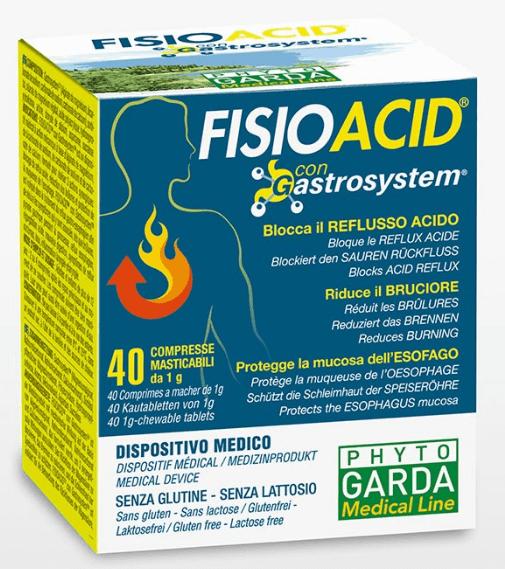 FISIOACID 40CPR MASTICABILI