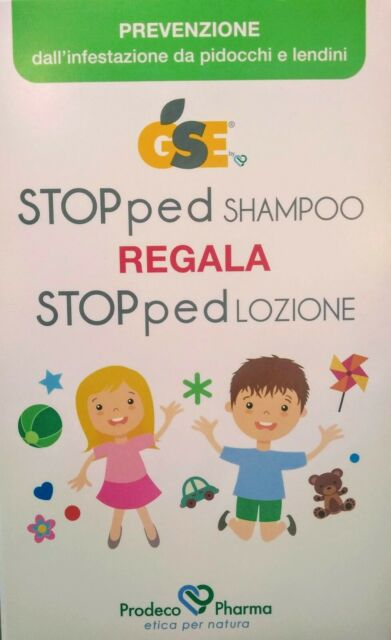 GSE - STOPPED SHAMPOO 150 ML + LOZIONE 100 ML