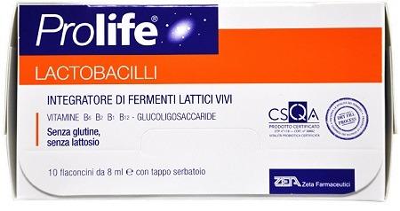 PROLIFE LACTOBACILLI 8ML - 7 Flaconcini
