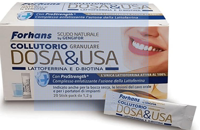 FORHANS DOSA&USA COLLUTTORIO GRANULARE