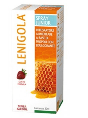 LENIGOLA SPRAY JUNIOR GUSTO FRAGOLA