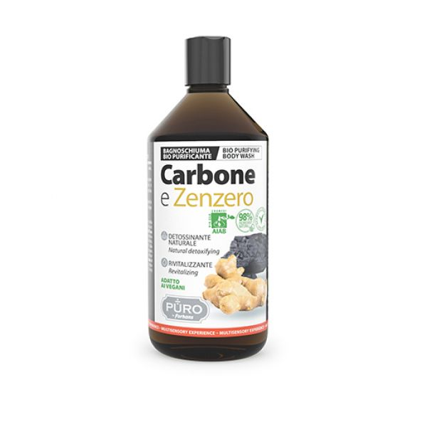 PURO BAGNOSCHIUMA CARBONE E ZENZERO 500ML