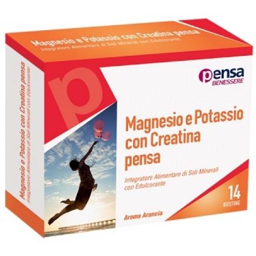 MAGNESIO E POTASSIO CON CREATINA PENSA