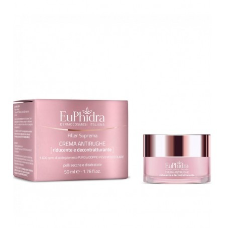 Euphidra Filler Crema Antirughe Riducente 50ml
