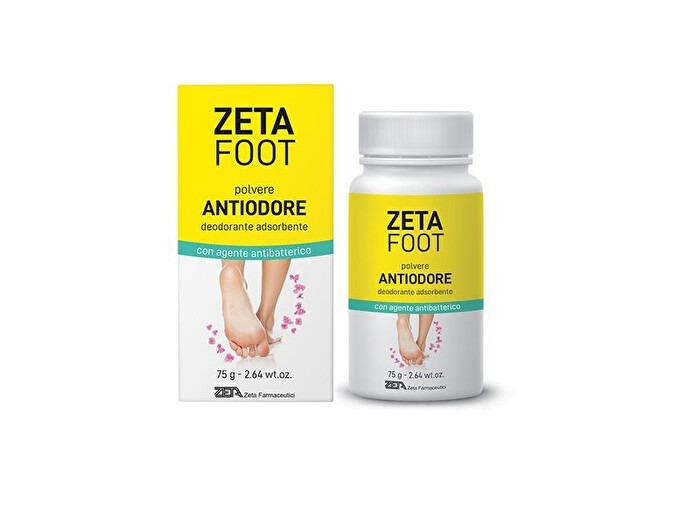 Zeta Foot Polvere Antiodore deodorante 75g
