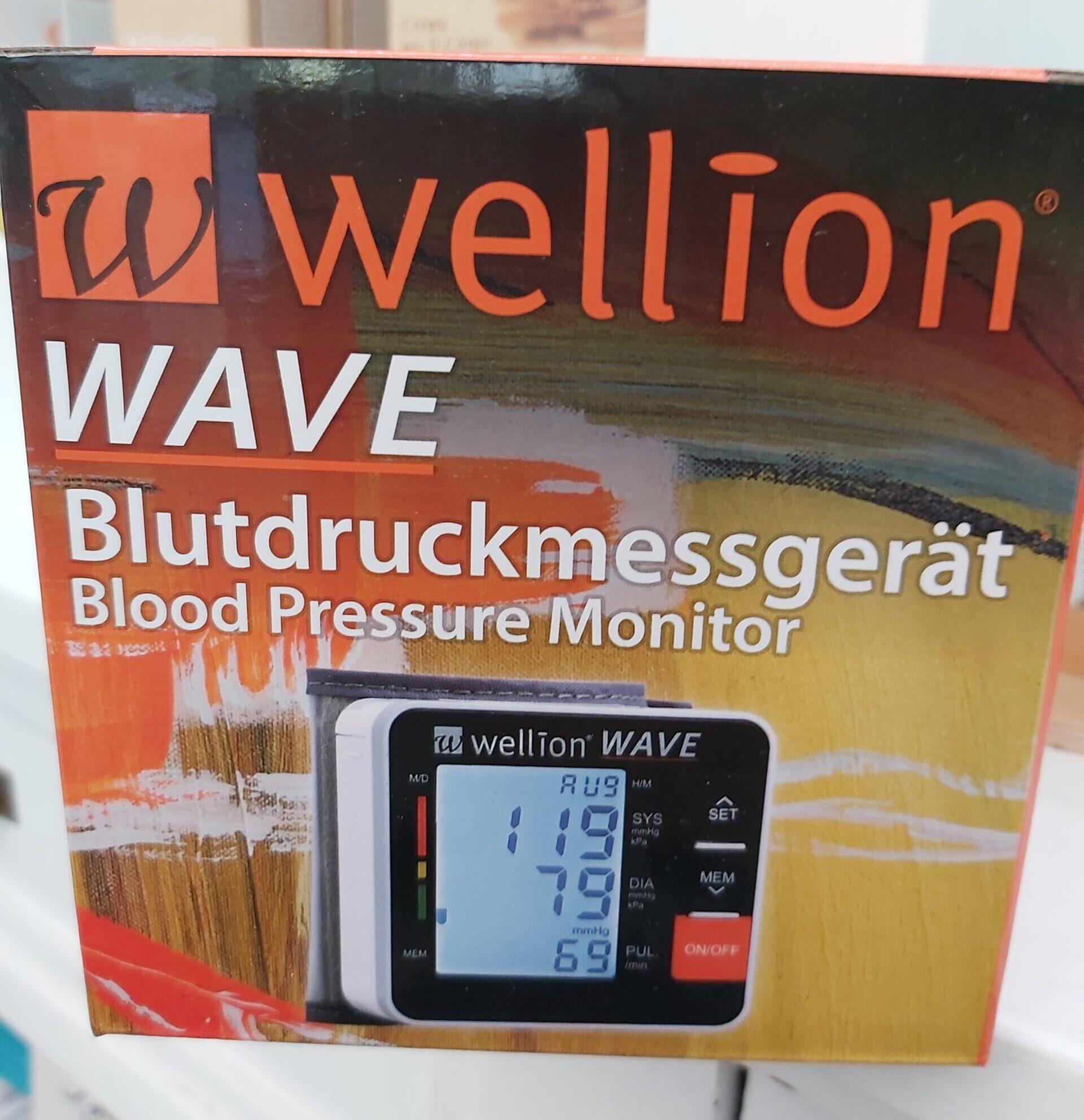 Wellion Wave Misuratore di Pressione al Polso
