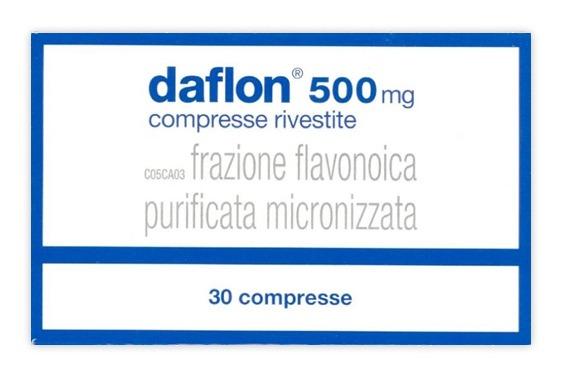 DAFLON* 60CPR O 30 CPR RIV 500MG - 60 CPR